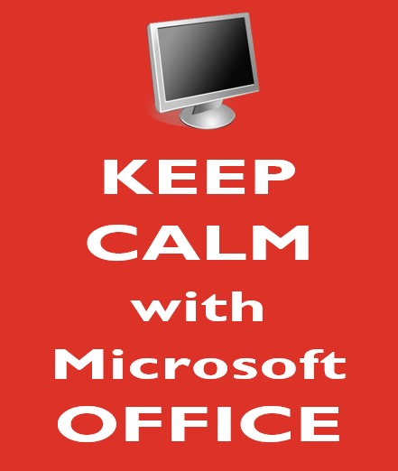 cover - Keep Calm with Microsoft Office